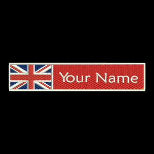 UK Flag & Name